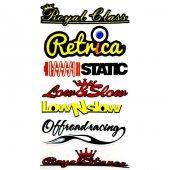 Royal Class Sticker Set