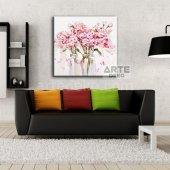 Arte Kavanozdaki Çiçekler Kanvas Tablo