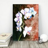 Orkide Kanvas Tablo