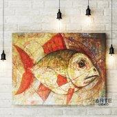 Modern Balık Kanvas Tablo