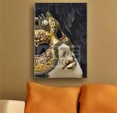 Arte Maske Kanvas Tablo