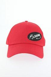 Kırmızı Renk Atatürk İmza Tasarımlı Şapka