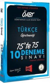 Yargı Yayınları ÖABT Türkçe Öğretmenliği 75te 75 10 Deneme Sınavı
