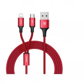 Baseus Rapid 2in1 Micro+iphone Hızlı Şarj Kablo...