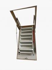 Nukan Metal 70x140 Cm Katlanır Çatı Merdiveni
