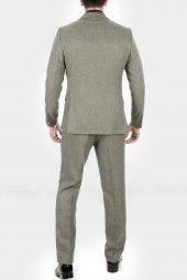 DeepSEA Kırçıllı Desen Çift Yırtmaç İtalyan Kesim Takım Elbise 1920130-12