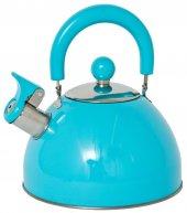 Lifetime Cooking Düdüklü Çaydanlık Paslanmaz Çelik 2.5 Lt. Mavi
