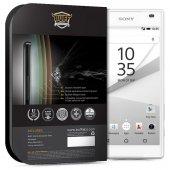 BUFF Sony Xperia Z5 Compact Darbe Emici Ekran Koruyucu Film-2