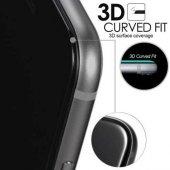 Sony Xperia XZ Tam Kaplayan Çerçeveli Kırılmaz Cam Siyah-3