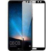 Huawei Mate 10 Lite Tam Kapatan Kavisli Cam Siyah