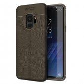 Samsung Galaxy S9 Silikon Gri Kılıf Arka Koruyucu Kapak