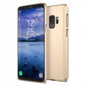 Samsung Galaxy S9 Slimline Gold Kılıf Arka Koruyucu Kapak
