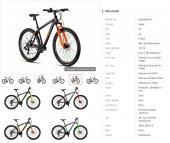 2019 Model Kron XC150 29 Jant HD  Fren 24 Vites  Dağ Bisikleti-6