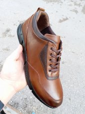 New Prato Erkek Ayakkabı 089 Taba Antik Deri
