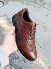 New Prato Erkek Ayakkabı 016 Taba Antik Deri