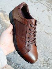 New Prato Erkek Ayakkabı 093 Taba Antik Deri