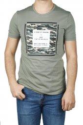 Cazador Erkek Baskılı Tişört O Yaka 4040