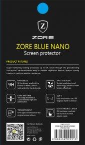 Samsung Galaxy Tab A T550 9.7 Ekran Koruyucu Zore Blue Nano Korum