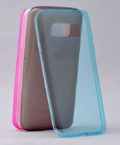 Samsung Galaxy S7 Ultra İnce Silikon Kapak Kılıf Arka Koruma 0.2 -5