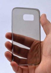 Samsung Galaxy S7 Ultra İnce Silikon Kapak Kılıf Arka Koruma 0.2 -8