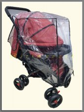Bebek Arabasi Yagmurlugu Alt Bagcikli Puset Yagmurluk Fitalatsiz Bebek Arabasi Yagmurluk