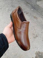 New Prato Erkek Ayakkabı 1453 Taba Antik Deri
