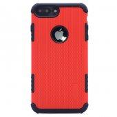 Apple iPhone 8 Plus Lopard Armour Youyou Kapak Kılıf-2