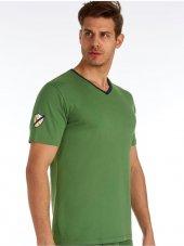 U.s. Polo 80151 V Yaka Kısa Kol Erkek T Shirt