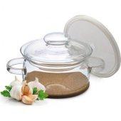 Simax Gourmet Pot 1lt Cam Kapaklı Tencere Ve Mantar Nihale