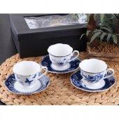 Gönül Porselen Kahve Fincan Takımı 6 Kişilik G1927