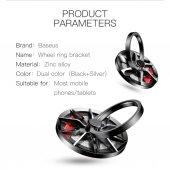 Baseus Wheel Tekerlek Ring Telefon Tutucu Yüzük...