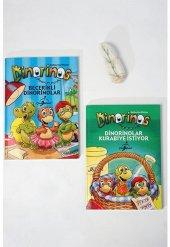 Dinorinos Çocuklar İçin Hikaye Seti 2 Kitap