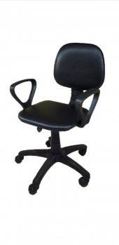 Sekreter Koltuğu Ofis Sandalyesi Bilgisayar Koltuğu Siyah