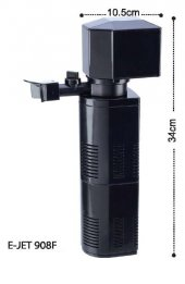 Jet Akvaryum İç Filtre 1400 L H