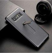 Samsung Galaxy Note 8 Kılıf Lopard Wave Standlı Mıknatıslı Arka K-5