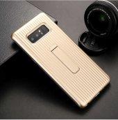 Samsung Galaxy Note 8 Kılıf Lopard Wave Standlı Mıknatıslı Arka K-9