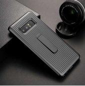Samsung Galaxy Note 8 Kılıf Lopard Wave Standlı Mıknatıslı Arka K-12