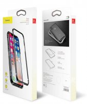 Apple iPhone X Baseus Manyetik Metalik Kılıf Arka Kapak Koruma-8