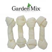 Gardenmıx Beyaz Düğümlü Derı Kemık 5 5,5 4lün