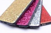 Samsung Galaxy A7 2017 Kılıf Lopard Metal Simli Kapak