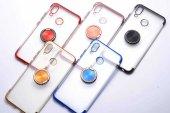 Huawei P20 Lite Kılıf Lopard Gess Silikon Kapak Arka Koruma Kabı-6