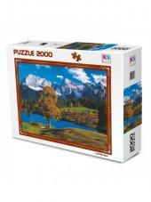 Puzzle 2000 Parça Bavarian Alps KS-2