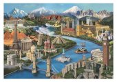 Puzzle 2000 Parça Simge Yerler Anatolian
