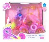 Pony İşıklı Sesli Balo Arabalı Byl015 2