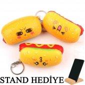 Squishy Sosisli Hot Dog Kokulu Yeni Ürün Sık Bırak Sukuşi Oyuncak