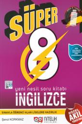 8. Sınıf İngilizce Yeni Nesil Süper Soru Kitabı Nitelik Yayınları