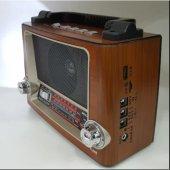 Nikula Star Radyo Disco Işıklı+fener Usb Mp3 Sd