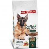Reflex Kuzulu, Pirinçli Ve Sebzeli Köpek Maması 15 Kg