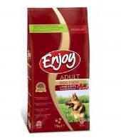 Enjoy Kuzu Pirinçli Yetişkin Köpek Mamasi 15 Kg