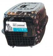 Kedi Köpek Taşıma Çantası Kuru Kafa Desenli...